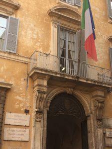 Palazzo Firenze, Sede Dante Alighieri - Italiano al Caffè