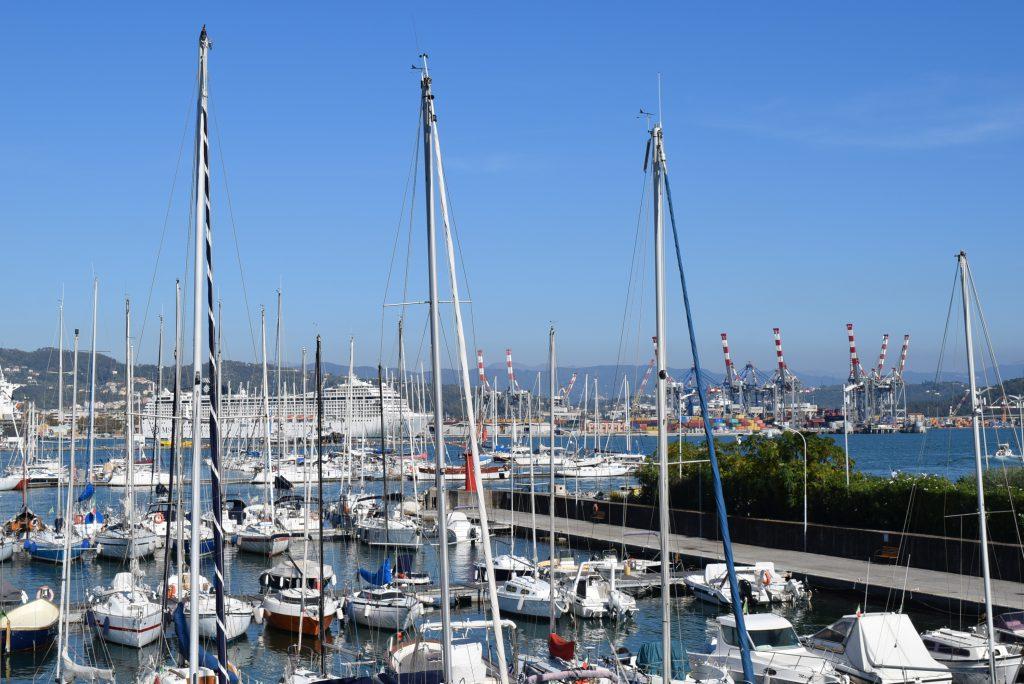 Porto della Spezia - Italiano al Caffè