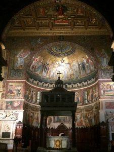 Altare Santa Maria in Trastevere - Italiano al Caffè