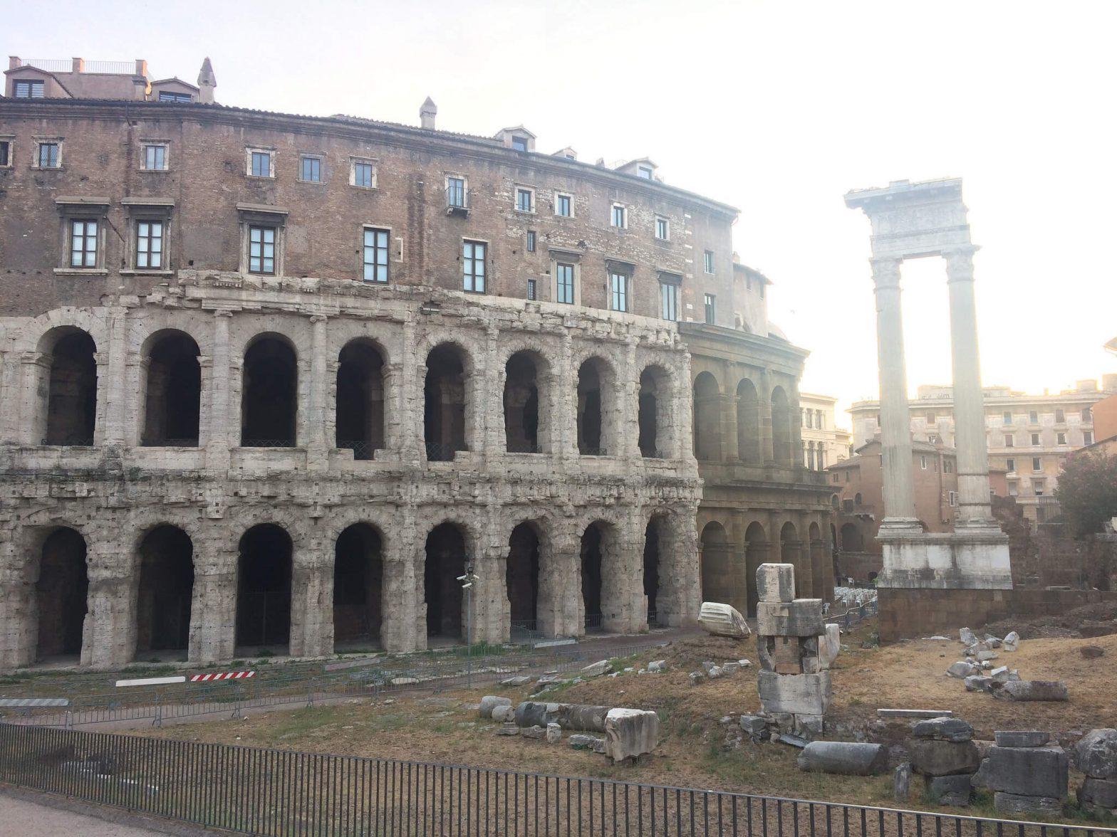 Teatro Marcello Roma - (c) Juana Vélez A