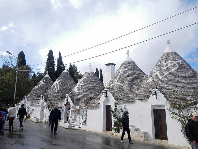I trulli di Alberobello - (c) Juana Vélez A