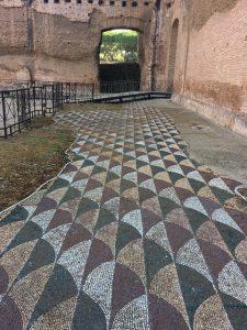 Mosaico di Terme di Caracalla - Roma - (c) Juana Vélez A