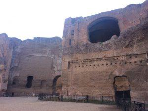Terme di Caracalla Roma - (c) Juana Vélez A