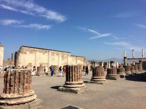 Foro en Pompei - (c) Juana Vélez A