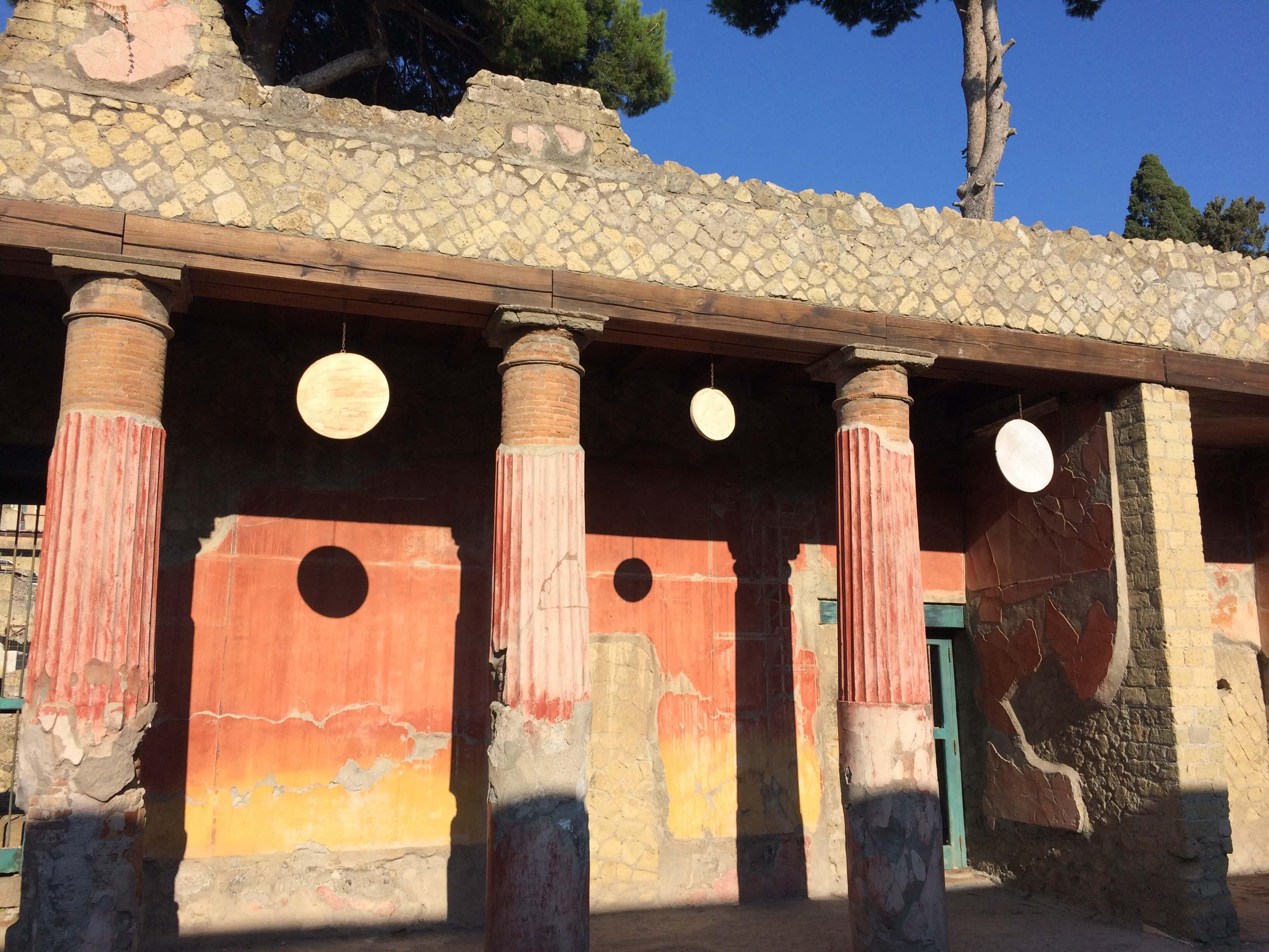Rosso Pompeiano - Ercolano - (c) Juana Vélez A