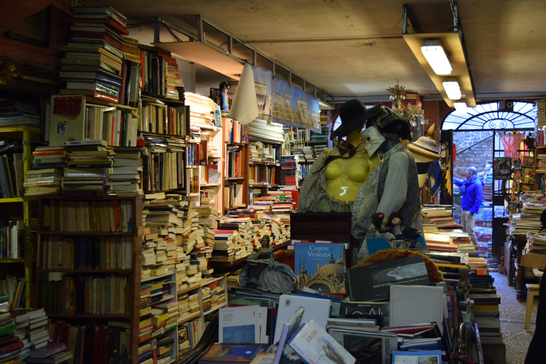 Libreria Acqua Alta - Venezia