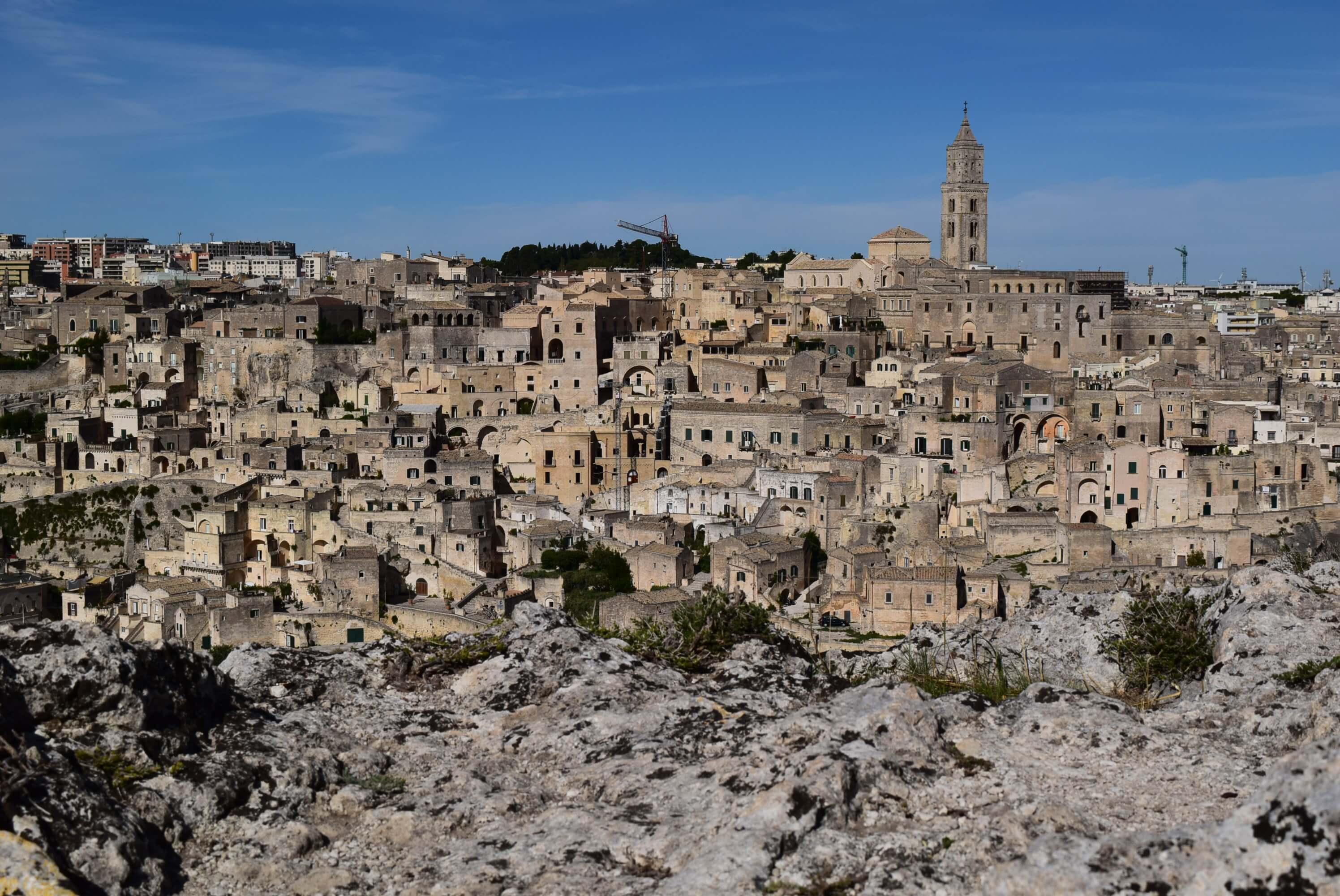 Vista de Matera, Basilicata
