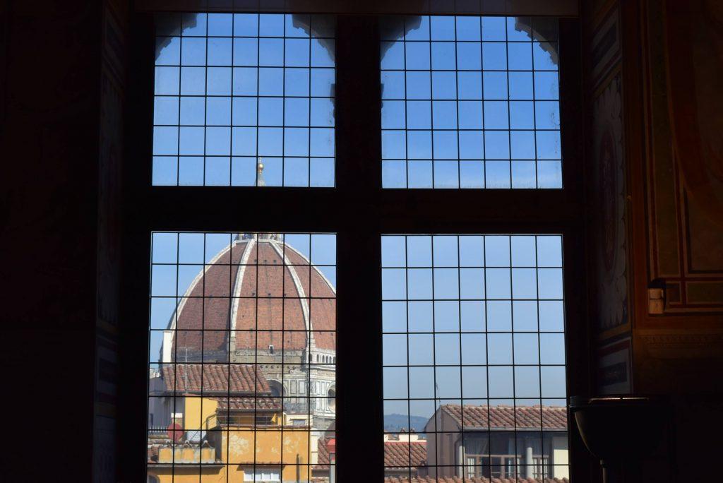 El Duomo de Florencia visto desde el Palazzo Vecchio
