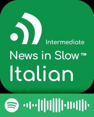 News in Slow Italian