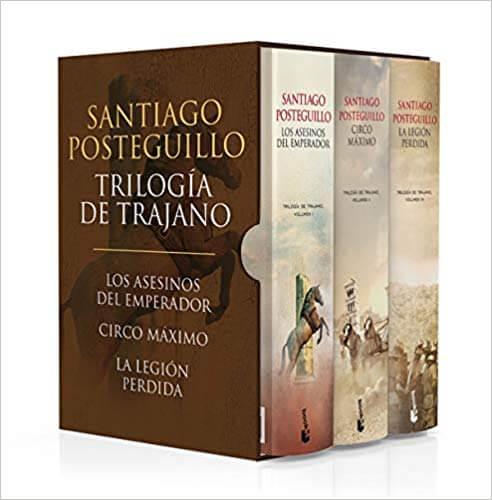 Trilogía de Trajano - Santiago Posteguillo -  - Libros sobre el Imperio Romano