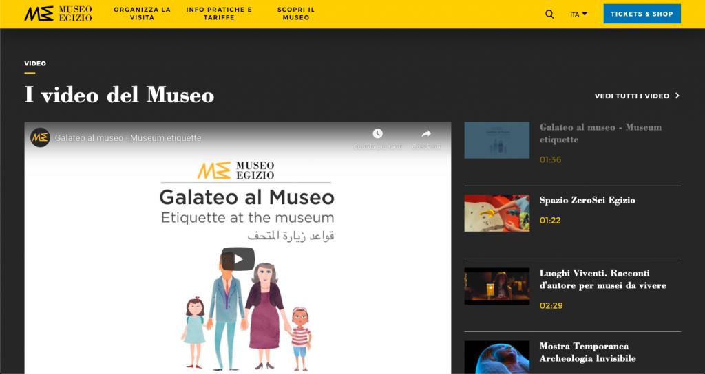 Museo egizio di Torino - Tour Virtual