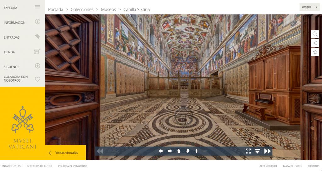 Museos Vaticanos - Museos italiano para visitar virtualmente