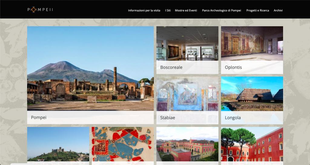 Parco archeologico di Pompei - Tour Virtual