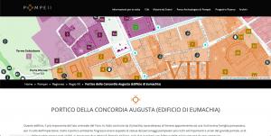Parco archeologico di Pompei - Museos italiano para visitar virtualmente