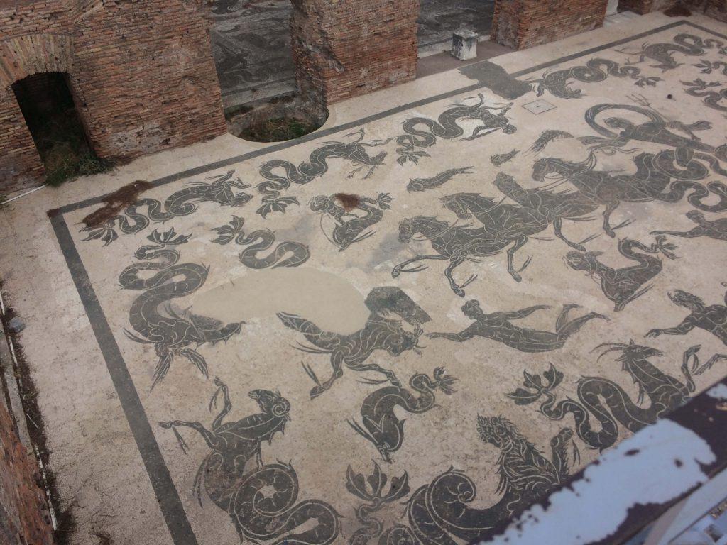 Mosaico - Ostia Antica
