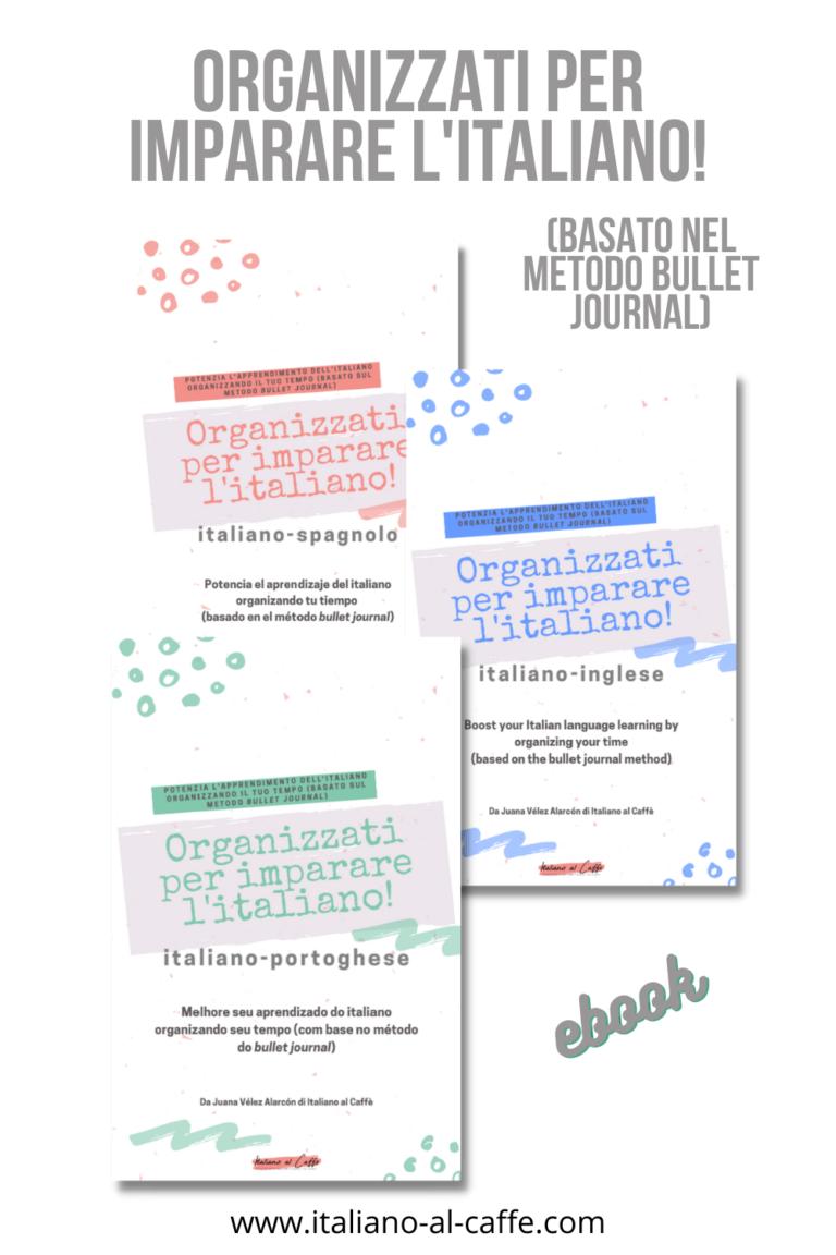 Impara l'italiano _ Organizzati per imparare l'italiano _ Italiano al Caffè
